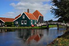 Zaanse Schans,  Netherlands (natureloving) Tags: zaanseschans amsterdam netherlands europe bridge river reflections nature natureloving nikon d90 nikonafsdxnikkor18300mmf3563gedvr
