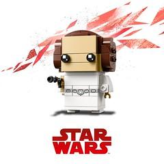 Lego Brickheadz (Shady_77) Tags: brickheadz lego legobrickheadz starwars luke yoda leia bobafett