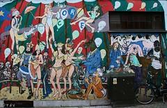 Graffiti Circus (Peter De Vos69) Tags: graffiti circus wall mechelen belgium streetart malines