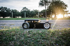 #3 RC Scratchbuilt Bagged Ratrod First Drive-5 (Strangely Different) Tags: rceveryday rcengineering tinytrucks rcratrod kustom patina scratchbuilt ratrod chopped hobby rccar rc4wd scratchbuild customrc scaler scalerc axial tamiya traxxas