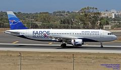 OY-RCJ LMML 09-06-2018 (Burmarrad (Mark) Camenzuli Thank you for the 12.2) Tags: airline atlantic airways aircraft airbus a320214 registration oyrcj cn 7465 lmml 09062018