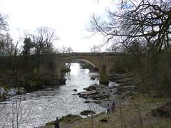 Kirkby Lonsdale - River Lune [Devils Bridge] 180405 (maljoe) Tags: kirkbylonsdale cumbria rnblune bridge bridges