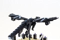 LEGO Minecraft Ender Dragon Kinetic Sculpture (Josh DaVid LEGO Creations) Tags: minecraft lego dragon kinetic sculpture game video java