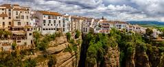 Ronda (Trevor Bowling) Tags: spain ronda 2018 pano panoramic andalucia espana cliffs ravine puentenuevo d3200 nikon