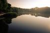 Sunrise at Royal City Park (ildikoannable) Tags: guelph fujix100t