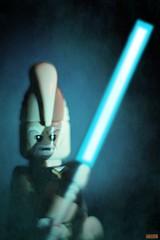 jedi portrait-Ki-Adi-Mundi (notatoy) Tags: star wars jedi portrait lightsaber lego kiadimundi