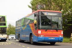SMSL 52257 @ Preston bus station (ianjpoole) Tags: stagecoach merseyside south lancs volvo b10m62 plaxton premiere interurban m943tsx 52257 driver training duty preston bus station