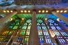 La Sagrada Windows (fate atc) Tags: antonigaudi barcelona basilica catalonia catholic expiatori familia sagrada spain cathedral ceiling church columns dela helicoidal holyfamily hyperboloid lighting modernism nave organpipes roof stainedglasswindows