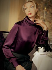 i64 (alannah.myles66) Tags: satin foulard soie blouse chemisier femme silk seide sexy