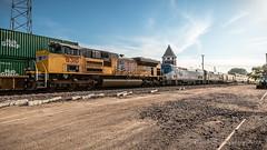 Skunked! (dscharen) Tags: amtrak californiazephyr dekalb genevasub illinois trains up unionpacific depot