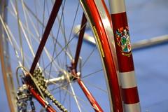 CR2018-2057 Cinelli B with fenders 1958 - John Barron (kurtsj00) Tags: classic rendezvous 2018 vintage lightweight bicycles bike cinelli b with fenders 1958 john barron
