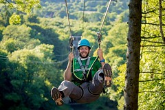 Does My Zip Line Trolley Need A Handle? #zipline #trolley #expert http://j.mp/2xkSuZH (Skywalker Adventure Builders) Tags: high ropes course zipline zipwire construction design klimpark klimbos hochseilgarten waldseilpark skywalker