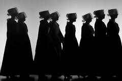 Festerion ar Brug - Pluneret (Patrick Doreau) Tags: danseuses bretagne coiffes tradition culture costumes blackandwhite bw championnat spectacle danse kendalch
