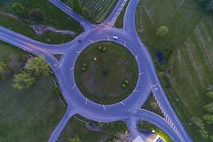 Spin (Matt Champlin) Tags: spin circle traffic life roundandround drone aerial evening contemplation drones dji djiphantom4 phantom4 2018 travel auburn road transportation graduation endofschool