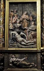 Astorga (León-España). Catedral. Retablo Mayor de 1584, obra de Gaspar Becerra. Deposición y Virtud (santi abella) Tags: astorga león castillayleón españa catedraldeastorga retablos