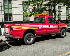 FDNY Marine Operations Pickup Truck, Downtown Brooklyn, New York City (jag9889) Tags: 2018 20180608 architecture auto automobile bravest brooklyn building car downtownbrooklyn fdny firedepartment firedepartmentofthecityofnewyork firefighter firstresponder ford house kingscounty marine metrotechcenter ny nyc newyork newyorkcity newyorkcityfiredepartment newyorksbravest operations outdoor pickup road transportation truck usa unitedstates unitedstatesofamerica vehicle jag9889