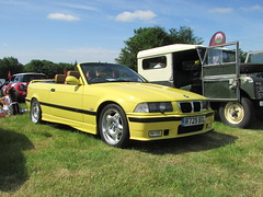 BMW M3 Evolution Cabriolet R729BOL (Andrew 2.8i) Tags: classicsatscolton scoltonmanor haverfordwest pembrokeshire car cars classic classics show e36 german open convertible sports sportscar evo cabriolet evolution 3series m3 bmw welsh wales uk unitedkingdom