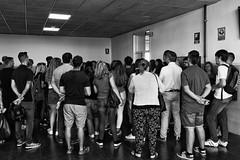 Examen (El s@lmón) Tags: gente people test examen valencia spain waiting espera