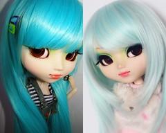 2008 vs 2018: Adara (·Yuffie Kisaragi·) Tags: doll pullip prunella adara obitsu rewigged rechipped