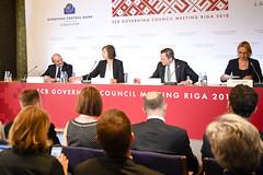 ECB Press Conference in Riga (European Central Bank) Tags: 06 2018 ecb europeancentralbank frankfurtammain governingcouncil governingcouncilpressconference june latvia luisdeguindos mariodraghi photo pressconference riga monetarypolicy