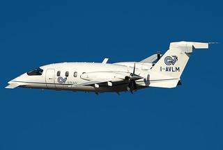 I-AVLM  Enav Piaggio P-180 Avanti