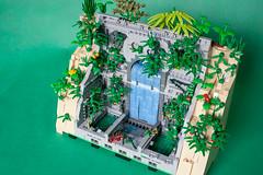 Johnny Thunder and Amazon Temple (Jellyeater1) Tags: lego moc johnnythunder amazon ship temple
