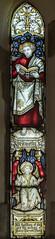 Brandesburton, St Mary's church window (Jules & Jenny) Tags: brandesburton stmaryschurch stained glass window