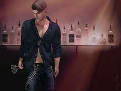 Time for a drink (Kaize Topaz) Tags: kzposes secondlife artwork photoshop