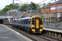 158706 2J68 13:23 Glasgow Queen Street to Falkirk Grahamston; Springburn; 16-06-2018 (graeme8665) Tags: abellioscotrail scotrail springburn dmu