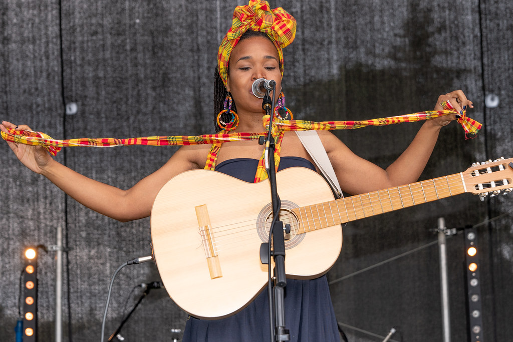 INES KHAI FROM GUADELOUPE [AFRICA DAY 2018 IN DUBLIN]-140494