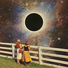 b (woodcum) Tags: gif gifanimation animation animated girls sun eclipse space cosmic cosmos stars surreal collage retro color tesla car
