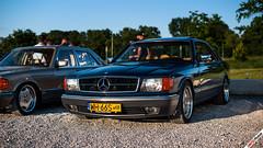 W126 Coupe (m.grabovski) Tags: mercedes w126 coupe warszawa warsaw polska poland mgrabovski 420 sec