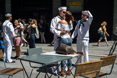 FleetWeek2018(NYC) (bigbuddy1988) Tags: new nyc usa city manhattan art people portrait photography newyork navy sailor military white friends love nikon d800 timessquare