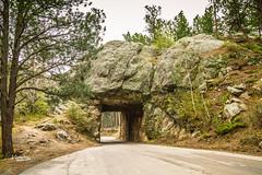 Scovel Johnson Tunnel (JGemplerPhotography) Tags: tunnel southdakota blackhills highway