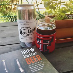 interested in learning about & trying our hand at home brewing - enjoying a cold one on our patio while I learn more... #beergrottoannarbor #craftbeer #crowler #beer #brewbetterbeer (valatal) Tags: beergrottoannarbor craftbeer crowler beer