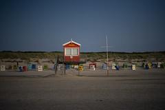 """""""Baywatch"""" / Langeoog (jkiter) Tags: strandkorb deutschland hütte architektur nordsee langeoog architecture germany cabin hut lodge northsea"""