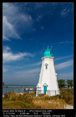 Beautiful lighthouse at Port Dalhousie Harbour, Ontario, Canada (__Viledevil__) Tags: canada catherines dalhousie ontario architecture beacon coast coastline harbour historic landmark landscape light lighthouse maritime nautical navigation port safety seascape tourism tower water stcatharines canadá ca