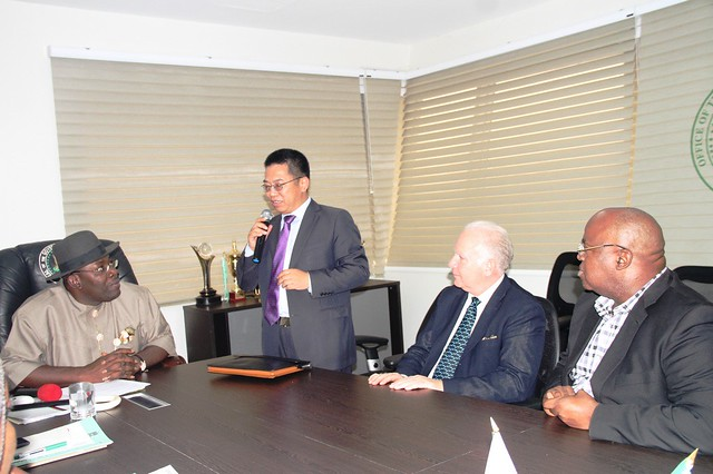 HSDickson- Courtesy call with Chinese Rice Investor
