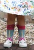 wellies (Snapdragon Lincs) Tags: wellies wellingtons unicorn posh dress knees child floral flowers white pink blue colourful funny comfortable garden outdoors lincolnshire legs