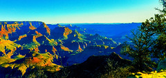 The Ever Changing Color (Douglas H Wood) Tags: grandcanyon nationalparkservice god creation heaven landscape colors beauty arizona art