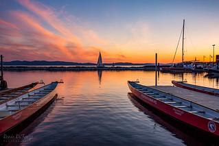 Burlington Summer Sunset