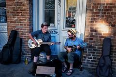New Orleans mood (rvjak) Tags: nouvelleorléans usa d750 nikon etatsunis louisiana neworleans music musique guitare street rue musicien musician hat chapeau