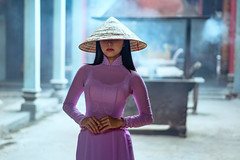 Beautiful vietnamese woman in Ao Dai white-traditional dress of vietnam, Ho Chi Minh city Vietnam (Patrick Foto ;)) Tags: aodai hochiminh asia asian attractive background beautiful beauty charming china chinese closeup cute dress face fashion female girl hair lady lifestyle lovely model oriental people person portrait pose pretty red temple tourism traditional travel vietnam vietnamese white woman young hochiminhcity hồchíminh vn