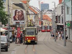 Tatra T6A5, #7933, DP Bratislava (transport131) Tags: tram tramwaj dp bratislava tatra t6a5