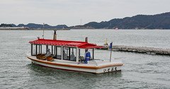 Tourist boat on sea in Toba, Japan (phuong.sg@gmail.com) Tags: antique asia asian attraction boat building canal city cold contemporary day daylight destination dock fishing harbor heritage historic hokkaido japan japanese lake landmark landscape nature net old otaru outdoor port red sapporo season sky summer sunshine tour tourism tourist town travel trip urban vacation village warehouse wharf