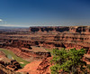 Dead Horse Point (Mike Blythe) Tags: 2017 blue canyonlands canyons dead holiday horse red rocks usa colorado sky
