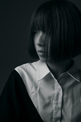 Yuki (Darkside ‧ Photography) Tags: portrait mola demi monochrome