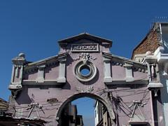 Mercado Matadero Franklin (0_miradas_0) Tags: mercado matadero franklin 1847 fachada edificio entrada calle arturo prat arquitectura historia patrimonio memoria urbana cielo ciudad santiago chile