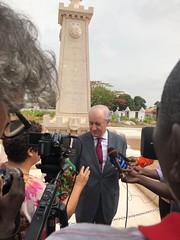 Rui Rio na Guiné-Bissau