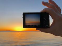 Sunset afterglow frame up (LEXPIX_) Tags: sooc lexpix adk champlain lake ten iphone rx100 sony dusk sky gradation afterglow twilight evening sunset